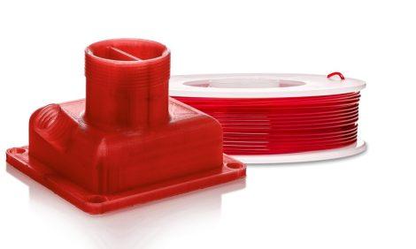 Ultimaker PETG nyomtatószál, áttetsző piros