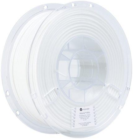 Polymaker PolyLite PETG nyomtatószál, fehér