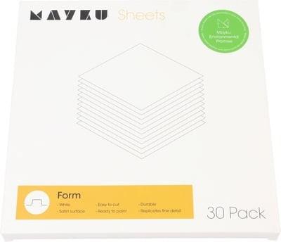 Mayku formázó (form) lemezcsomag (30 db, 0.5 mm vastag, fehér)
