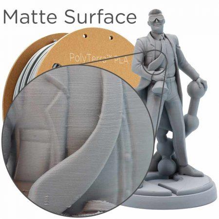 Polyterra PLA szürke Fossil Grey