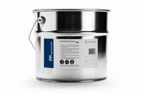 Sinterit Polipropilén 6 kg (PP 12 l)